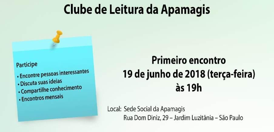 IPAM apoia Clube de Leitura da APAMAGIS