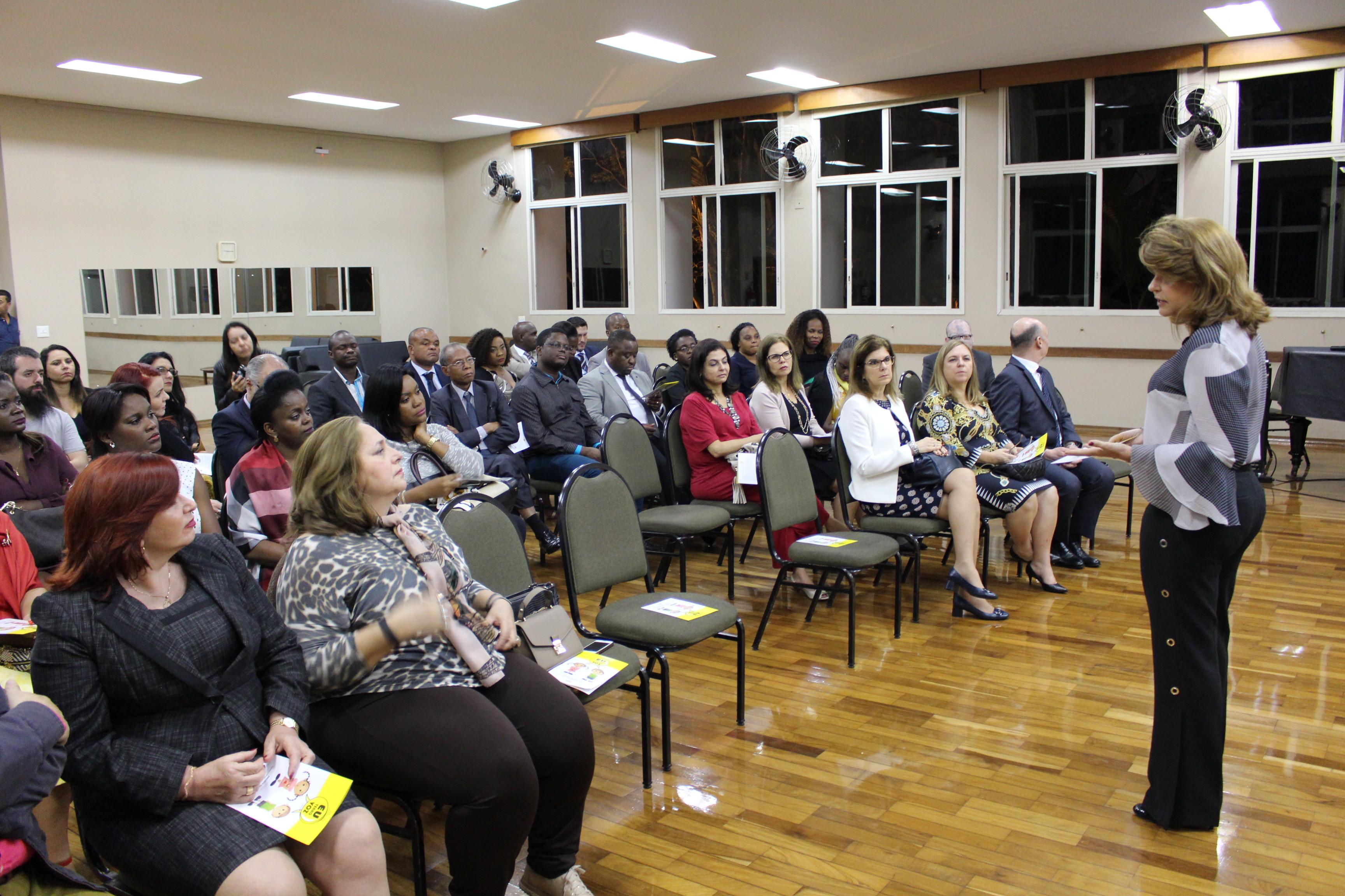 Projeto EU TENHO VOZ é apresentado para Magistrados de países lusófonos