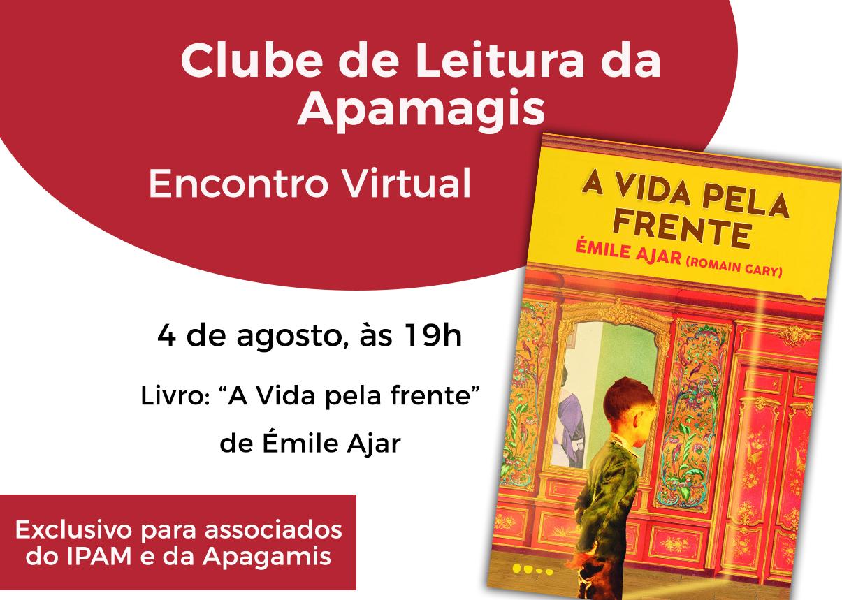"""IPAM convida os associados a participar do """"Clube de Leitura Apagamis"""""""