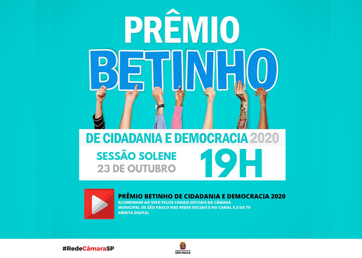 Eu Tenho Voz é finalista do Prêmio Betinho, que será entregue hoje (23)