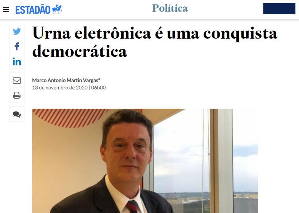Conselheiro executivo do IPAM publica artigo no Estadão