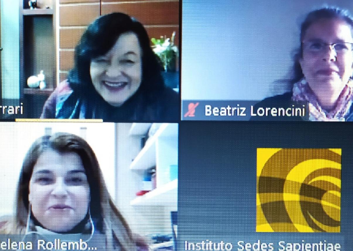 Eu Tenho Voz na Rede é apresentado no CNRVV do Instituto Sedes Sapientiae
