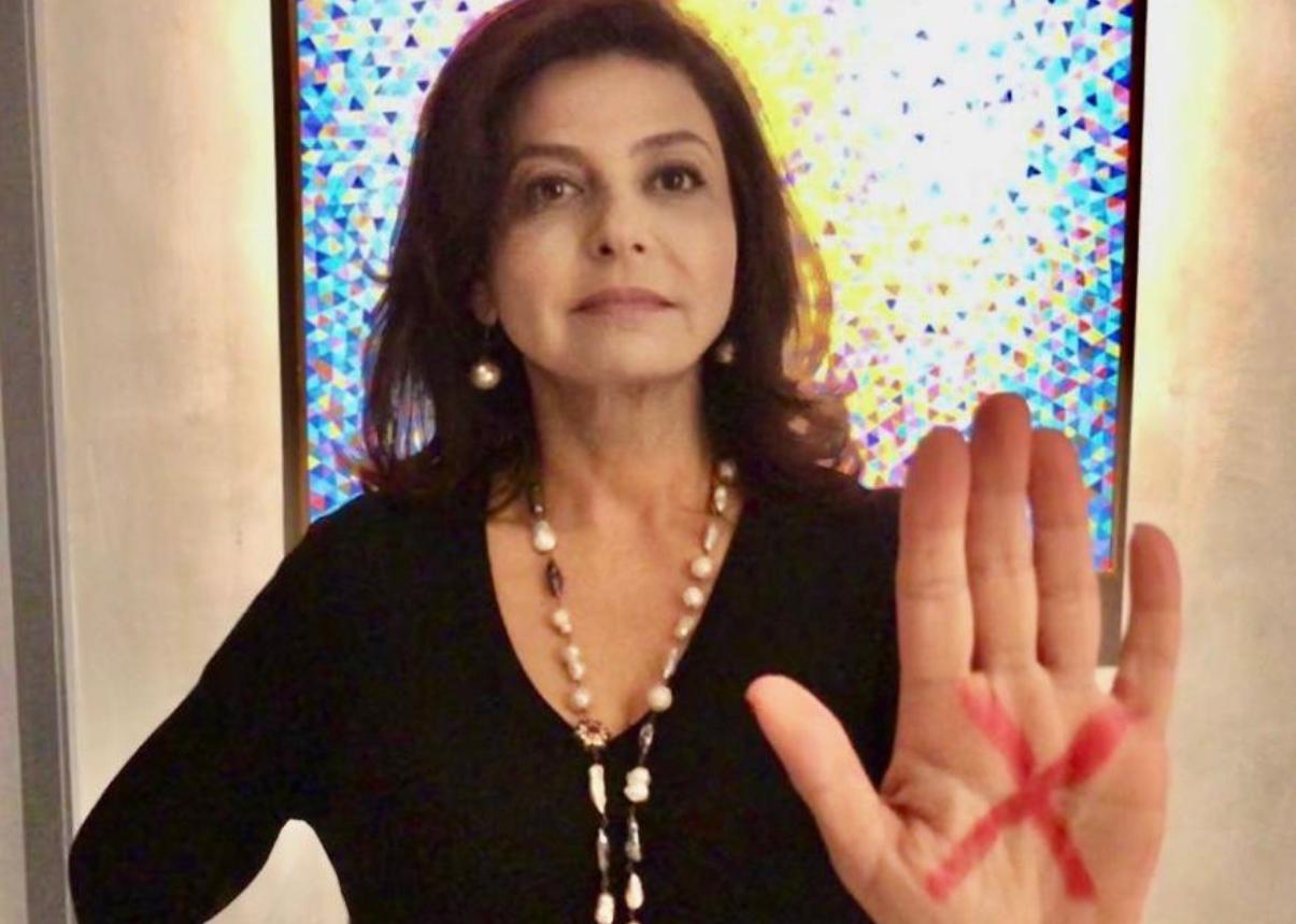 """Campanha """"Sinal Vermelho"""" salva mulher da morte em Santa Catarina"""