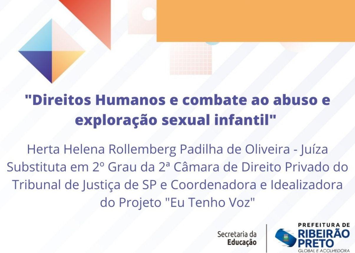 Eu Tenho Voz na Rede será apresentado para docentes de Ribeirão Preto
